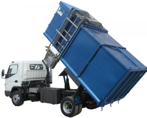 Side Loader - Garbage Truck - Refuse Collection - Houtris