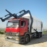 Front Loader - Refuse Collection - Garbage Truck - Houris